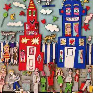 1990 Rizzi Magnetic Painting MovinOn 2 m 300x300 - Rizzi Ausstellung 2016 - Aktionstage im Kunsthandel Koenen