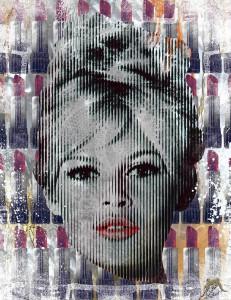 Alu Red Lips Brigitte Bardot 231x300 - Devin Miles und The German Pop-Art