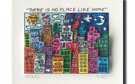 ThereIsNoPlaceLikeHome 464x290 - James Rizzi - eine Zeitreise durch die Pop-Art