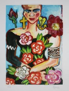 Elvira Bach 1 229x300 - Neu in unserer Galerie - Elvira Bach - 3 D Konstruktionen