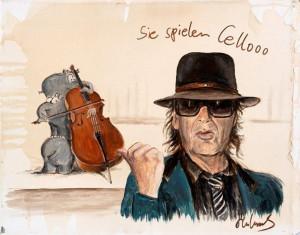 Sie spielen Cello Otto Waalkes Udo Lindenberg 300x235 - Udo Lindenberg