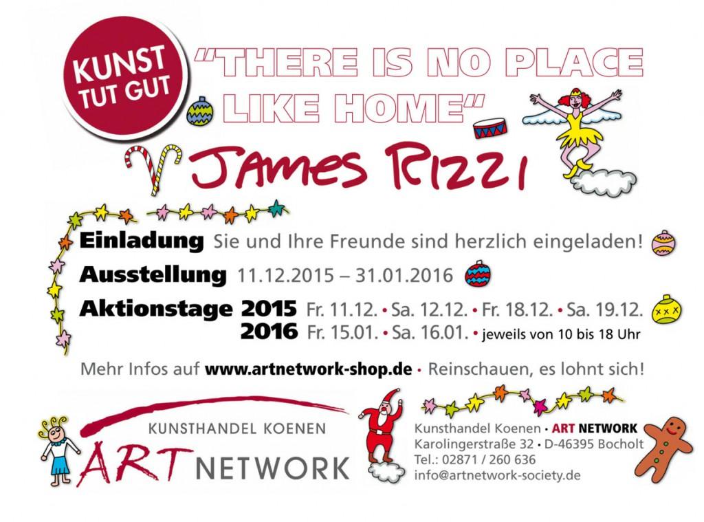 Rizzi Eimladung 2015 16 1024x759 - James Rizzi - Ausstellung 2015/2016