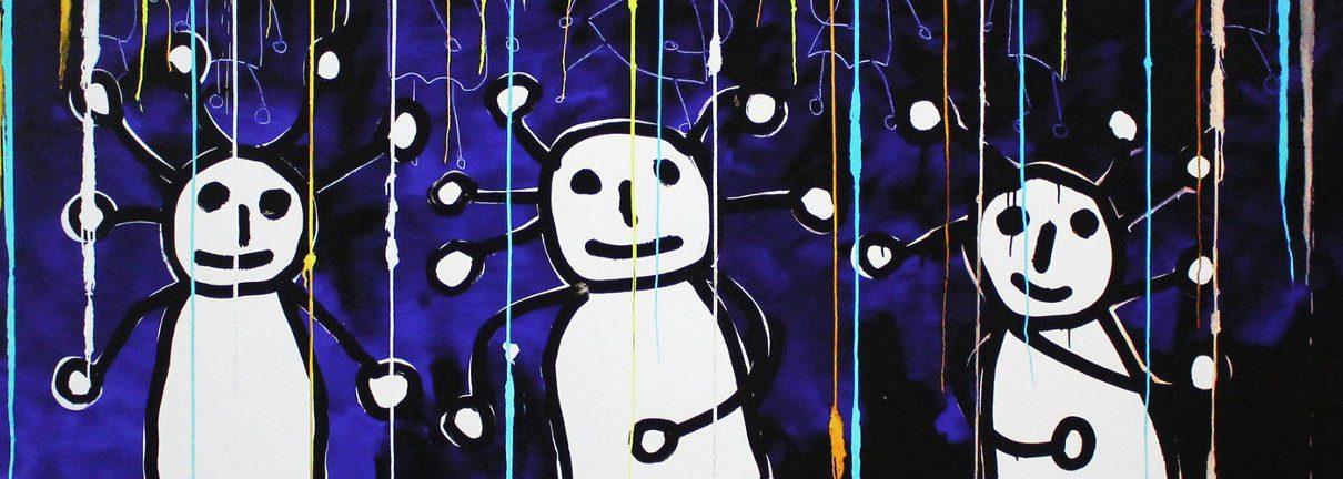 Sprkl 11 1210x432 - Paul Kostabi - Maler, Musiker, Tontechniker und Musikproduzent