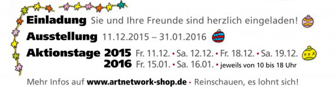 Rizzi2016 - Rizzi Ausstellung 2016 - Aktionstage im Kunsthandel Koenen