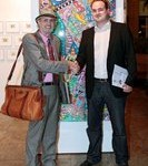 James Rizzi und Peter Koenen 133x150 - 10 Jahre - ART NETWORK - Kunst tut gut TV