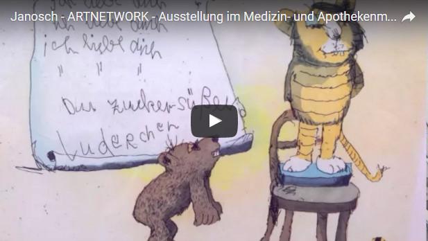 """Janosch Aus MAM - Kunst tut gut TV - Janosch Ausstellung """"Lach doch mal"""""""