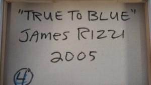 Rizzi Bird   True to Blue   Rueckseite 300x169 - James Rizzi legt weiter zu - Wertsteigerungspotenzial!!!