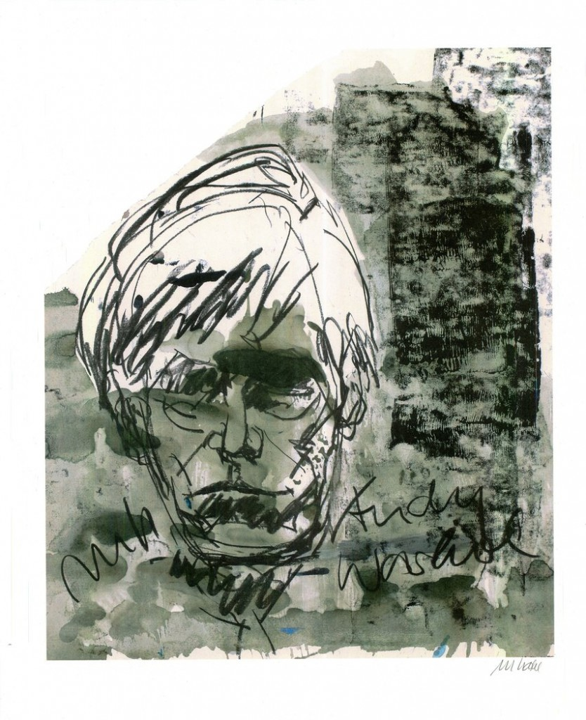 Andy Warhol 834x1024 - Andy Warhol - unvergessen und durch Künstleraugen gesehen