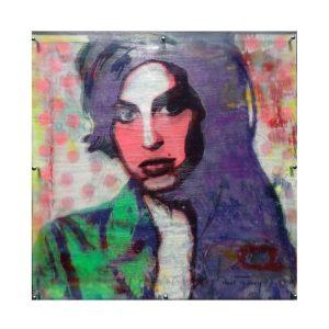 Amy Winehose Unikat 100x100 300x300 - Paul Thierry - Pop Art Bilder