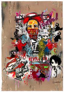 Revolution Wussow 210x300 - Sascha Wussow - Bilder mit starken Farben