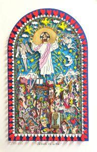 Rizzi Kirchenfenster 1 RIZZI10265 192x300 - James Rizzi - Kirchenfenster in Essen