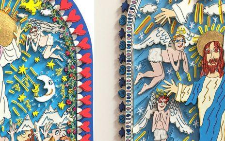 Rizzi Kirchenfenster 464x290 - James Rizzi - Kirchenfenster in Essen