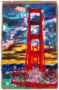 The View from Sausalito Wussow 197x300 - Sascha Wussow - Bilder mit starken Farben
