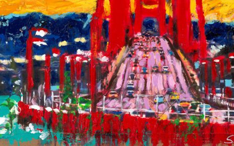 The View from Sausalito Wussow. 1 464x290 - Sascha Wussow - Bilder mit starken Farben