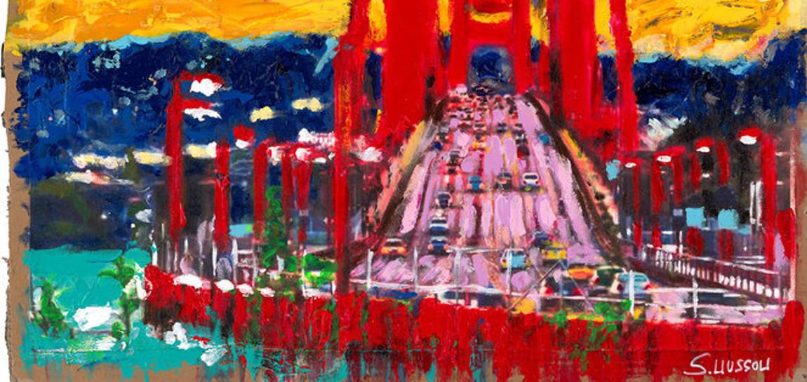 The View from Sausalito Wussow. 1 - Sascha Wussow - Bilder mit starken Farben