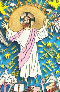 this is jesus 2 194x300 - James Rizzi - Kirchenfenster in Essen