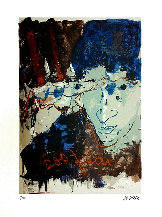 Armin Mueller Stahl   Bob Dylon - Bob Dylan - Portrait  des Literaturnobelpreisträgers 2016