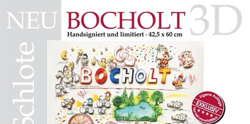 Bocholt 3D Schlote - 3D Bild Bocholt - Wilhelm Schlote - Autogrammstunde 16.11.2016