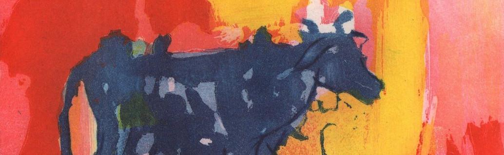 Armin Mueller Stahl   Die Blaue Kuh im Abendlicht Header - Die blaue Kuh - Armin Mueller-Stahl