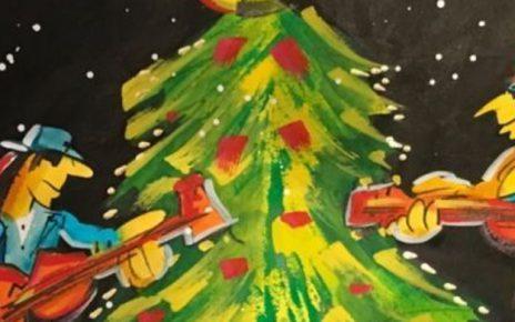 Grafik   Udo Lindenberg   Happy X Mas Header 464x290 - Udo Lindenberg - Bilder des Rocktitanen - Happy X-Mas