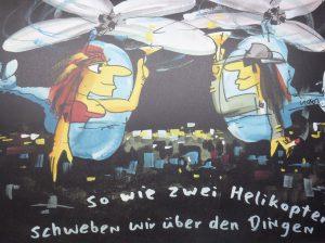 So wie zwei Helikopter 53 x 43 cm 300x224 - Udo Lindenberg - Bilder des Rocktitanen - Happy X-Mas