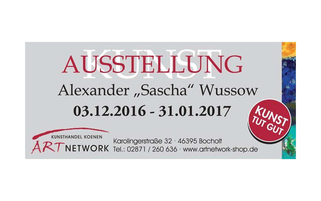 Wussow Life is a journey Ausstellung 1024x642 - Sascha Wussow - LIFE IS A JOURNEY - Kunstausstellung