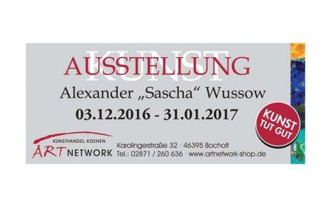 Wussow Life is a journey Ausstellung 464x290 - Sascha Wussow - LIFE IS A JOURNEY - Kunstausstellung