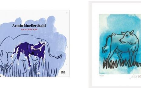 Blaue Kuh 464x290 - Mueller-Stahl - Die blaue Kuh - neues Motiv lieferbar