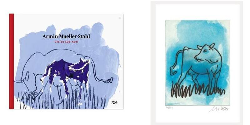 Blaue Kuh - Mueller-Stahl - Die blaue Kuh - neues Motiv lieferbar