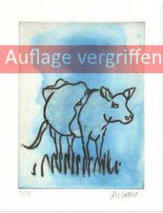 Blaue Kuh vergriffen 230x300 - Die blaue Kuh - Armin Mueller-Stahl