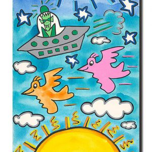 James RIZZI the sun the moon the stars 300x300 - James Rizzi - Online Shop - Offiziell authorisiert