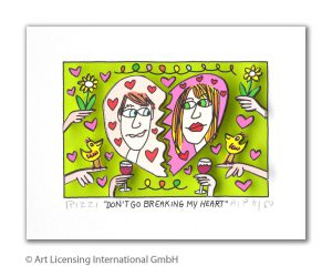 James Rizzi   Dont go breaking my heart 300x240 - James Rizzi - Online Shop - Offiziell authorisiert