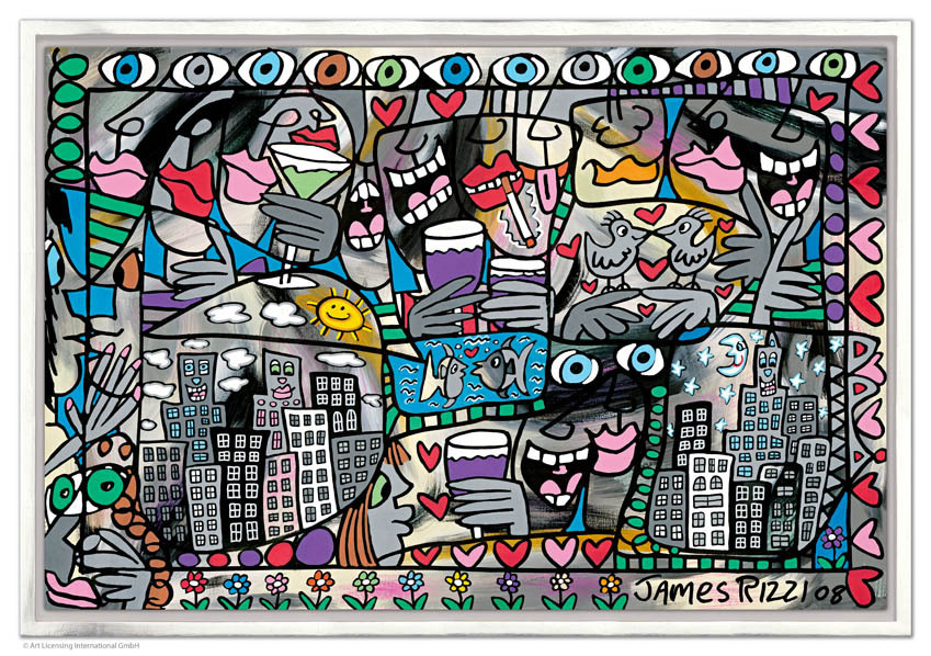 RIZZI11017 James Rizzi So happy together - James Rizzi - Online Shop - Offiziell authorisiert