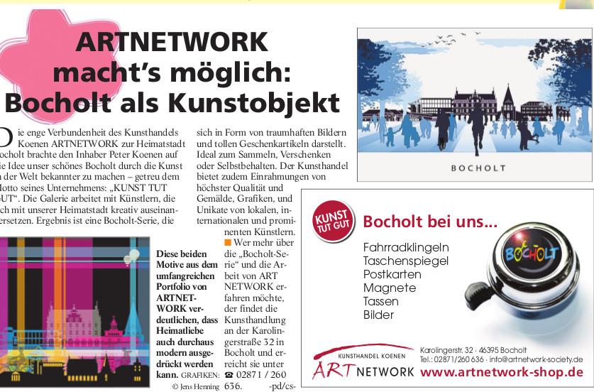 Berichterstattung Trendsetter 03.2017 T ts 43 1 002 - Kunst für Bocholt - Bilder - Grafiken - 3D - Pop Art - Accessoires