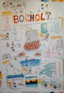 Bocholt Plakat 1 Schlote Wilhelm 208x300 - Kunst für Bocholt - Bilder - Grafiken - 3D - Pop Art - Accessoires