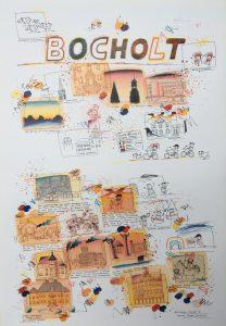 Bocholt Plakat 3 Schlote Wilhelm 208x300 - Kunst für Bocholt - Bilder - Grafiken - 3D - Pop Art - Accessoires