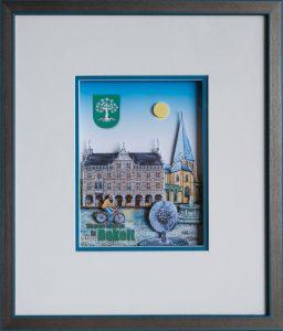 Thaddaeus Labisch Bocholt   Hochformat 256x300 - Kunst für Bocholt - Bilder - Grafiken - 3D - Pop Art - Accessoires
