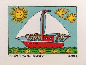 James Rizzi   Come sail away  300x225 - James Rizzi 2D - Pop Art ... ist einfach zeitlos ...