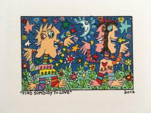 James Rizzi   Find somebody to love   2d 300x225 - James Rizzi 2D - Pop Art ... ist einfach zeitlos ...
