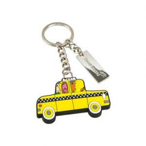 Rizzi Schluesselanhaenger Taxi 300x300 - James Rizzi 2D - Pop Art ... ist einfach zeitlos ...