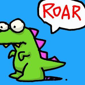 Ed Heck Roar 300x300 - Ed Heck - Tierische Pop Art Welten
