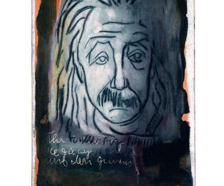 Albert Einstein Mueller Stahl 771x642 - NTV Film 2017 - Armin Mueller Stahl im Gespräch mit Wolfram Kons - KUNST TUT GUT TV