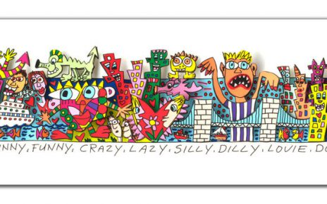 RIZZI10268 James Rizzi What a happy slappy sunny funny crazy lazy silly dilly lovie dovie place to live 464x290 - Always look on the Rizzi side of life