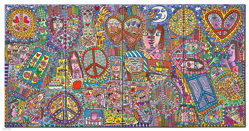 RIZZI11015 James Rizzi Give peace a chance 1024x538 - Always look on the Rizzi side of life