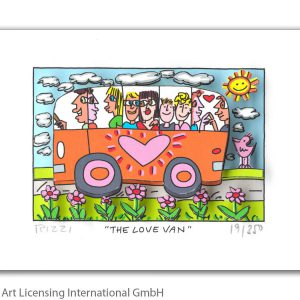 Rizzi10256   James Rizzi   The love Van 300x300 - Always look on the Rizzi side of life