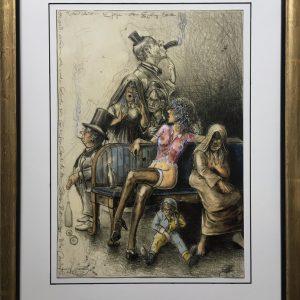 Andreas Nossmann   19   Ob gross ob klein alle werden Kunden sein   Goya 300x300 - Andreas Noßmann - Zeichnungen und Radierungen