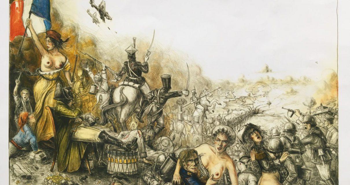 Andreas Nossmann   20   Europa Traum und Trauma 1210x642 - Geritzt, nicht gezeichnet - eine Betrachtung zur Popularität von Radierungen