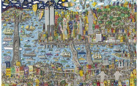 James Rizzi. New York City   a marathon for all. Foto 464x290 - James Rizzi - NEW YORK CITY - A MARATHON FOR ALL