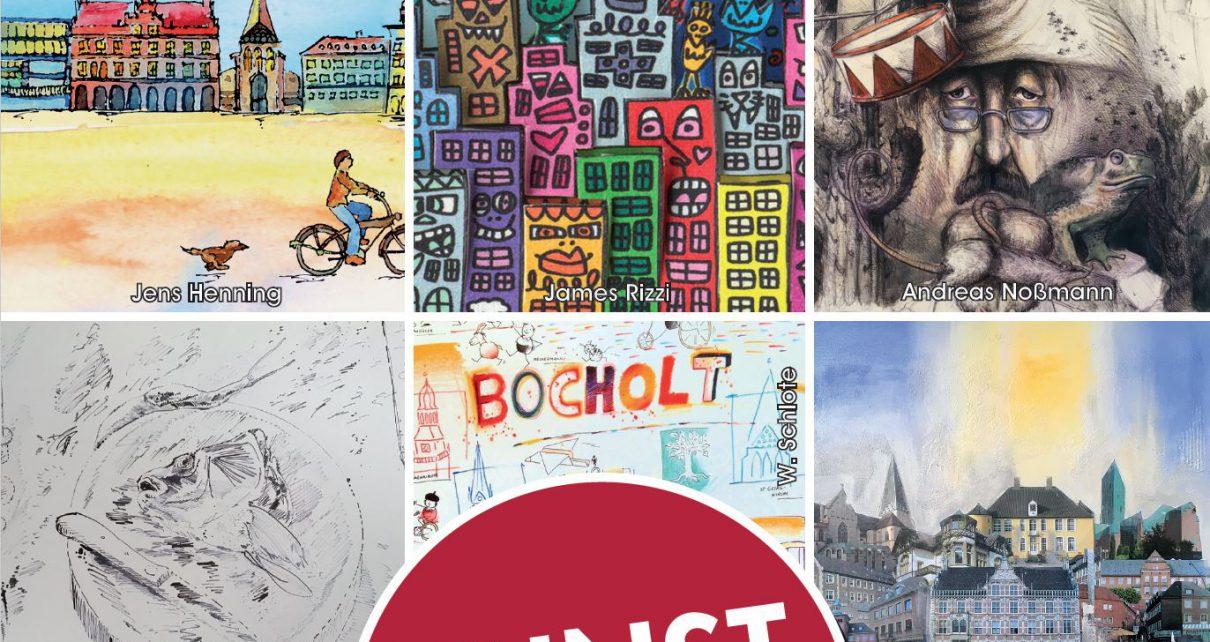 """Kemminghaus  Bocholt ART Networki 1210x642 - """"Galerie im Kemminghaus"""" - Bocholt - Nordstraße 18"""