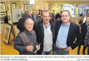 ART NETWORK Hermann Goering Andreas Nossmann Vernissage Kemminghaus BBV Sven Rueger 300x207 - ART NETWORK - In der Kunst der Stunde